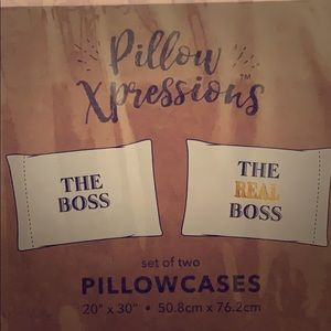 Other - His and her Pillow cases! New!!